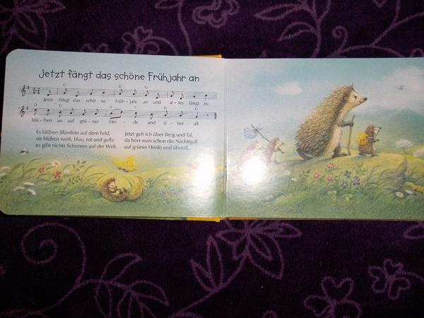 Kinderbuch Lieder Versen Märchen Kinder