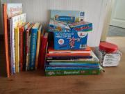 Kinderbücher und Spiele