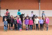 Kindergeburtstag auf dem Reiterhof in