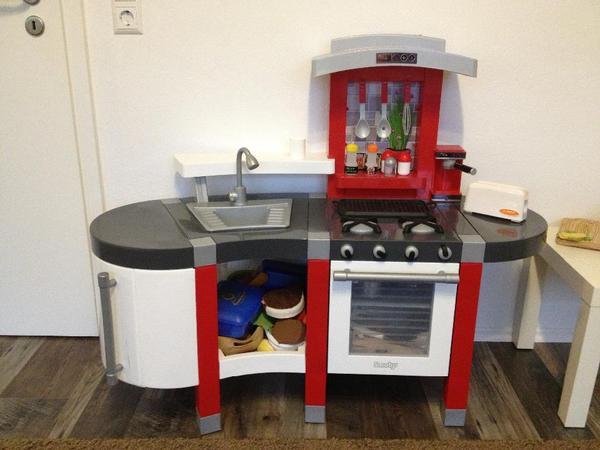 Kinderkuche smoby 24667 tefal super chef kuche for Smoby kinderküche