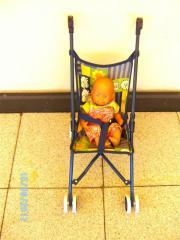 Kinderpuppenwagen, faltbar