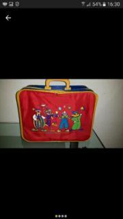 Kinderreisekoffer mit lustigen Circus Motiv