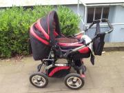Kinderwagen mit wickeltasche