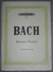 Klavierauszug Johannespassion von