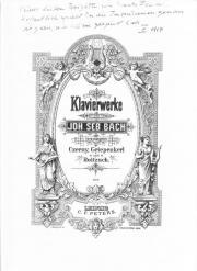 Klaviernoten Bach Inventionen