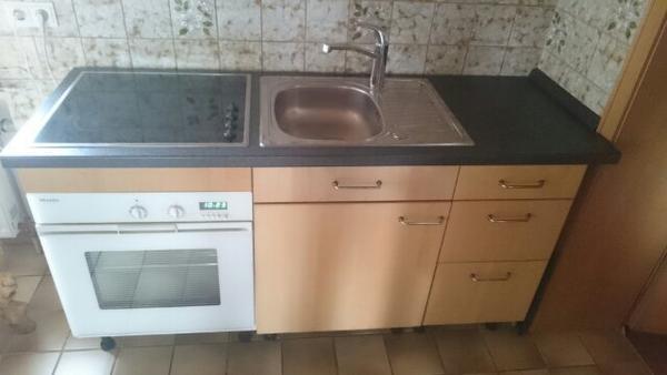 minikche singlekche mkb 100 backofen herdteil rechts kitchenline ... | {Singleküche mit backofen 7}