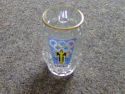 Kleiner Glas-Bierkrug Olympische Spiele MÜNCHEN