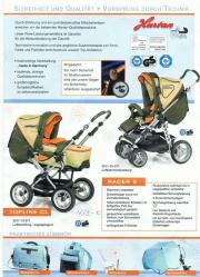 Kombi Kinderwagen 1 Hand Luftbereift