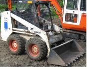 Kompaktlader Bobcat Vermietung Verleih Mieten