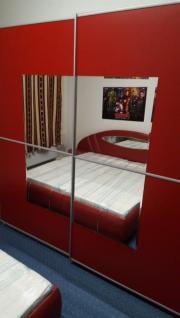 Komplette Schlafzimmer Bett +