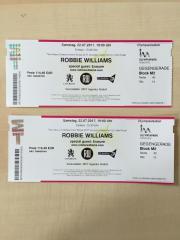 Konzertkarten für Robbie