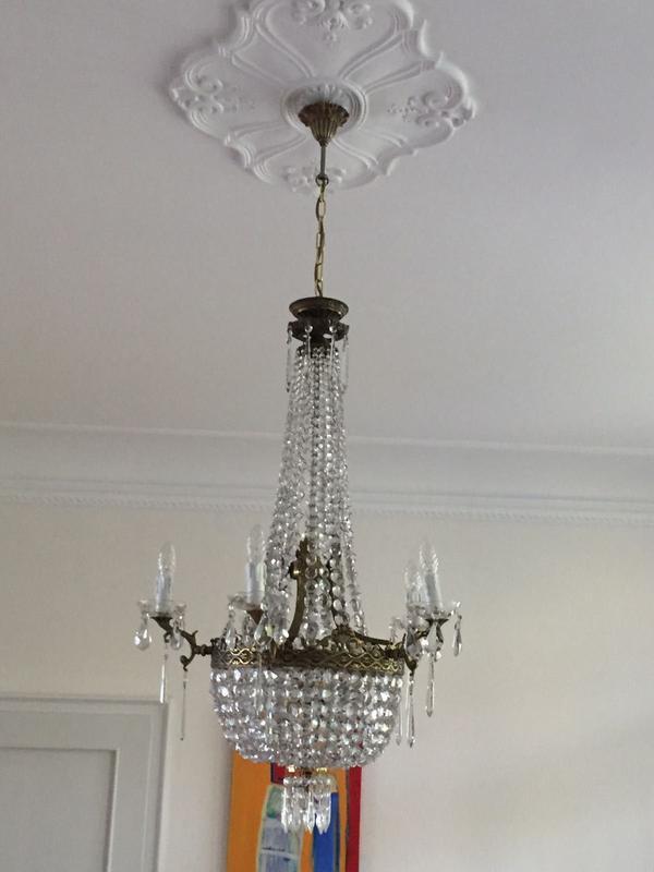 Kristallleuchter reparatur restaurieren montage in b hl for Lampen reparatur