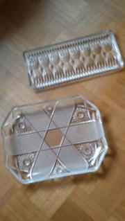 Kristallschale oder Königskuchenkristallplatte