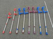 Krücken Gehkrücken -Hilfen 4x2 Stück