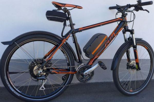 KTM E-Bike-2014 - 52km/h -14,5 Ampere Akku -Bergmotor! in Bad ...