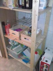 Küchenregal zu verschenken,