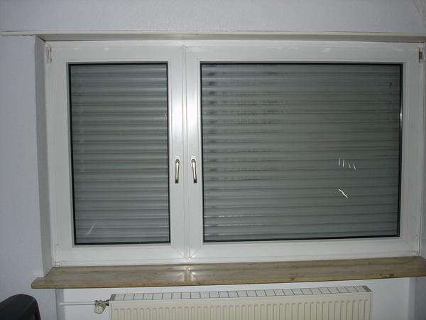 Kunststofffenster weiß  Kunststofffenster weiß, außen Aluminium dunkel eloxiert in ...