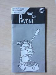 La Pavoni Bedienungsanleitung