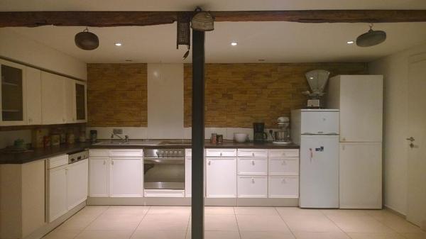 landhausküche weiß inklusive elektrogeräte in breuberg