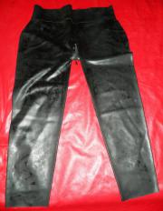 Latexleggings Langes schwarzes Latexkleid ca