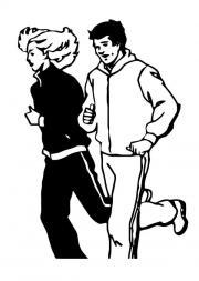 Laufen- Joggen im