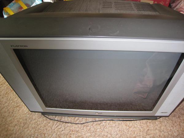 LG-Röhrenfernseher zu » TV, Projektoren