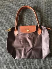 Longchamp Braune Ledertasche
