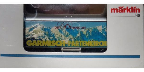 MÄRKLIN 93712 Kühlwagen Garmisch-Partenkirchen Olympia-Ort
