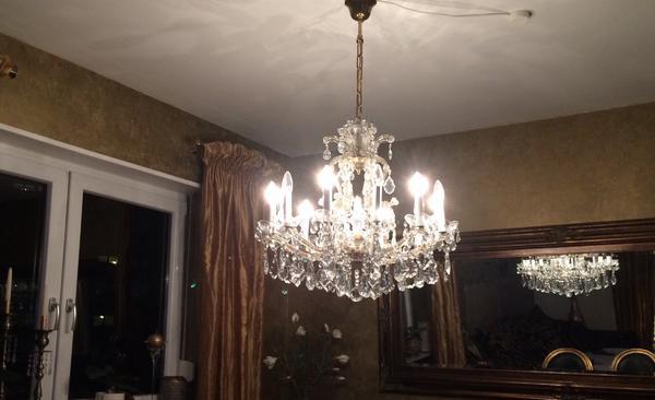 kronleuchter kristall antik gebraucht kaufen nur 4 st bis 75 g nstiger. Black Bedroom Furniture Sets. Home Design Ideas