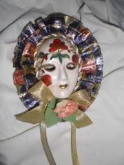 Masken Venezianische aus Porzellan