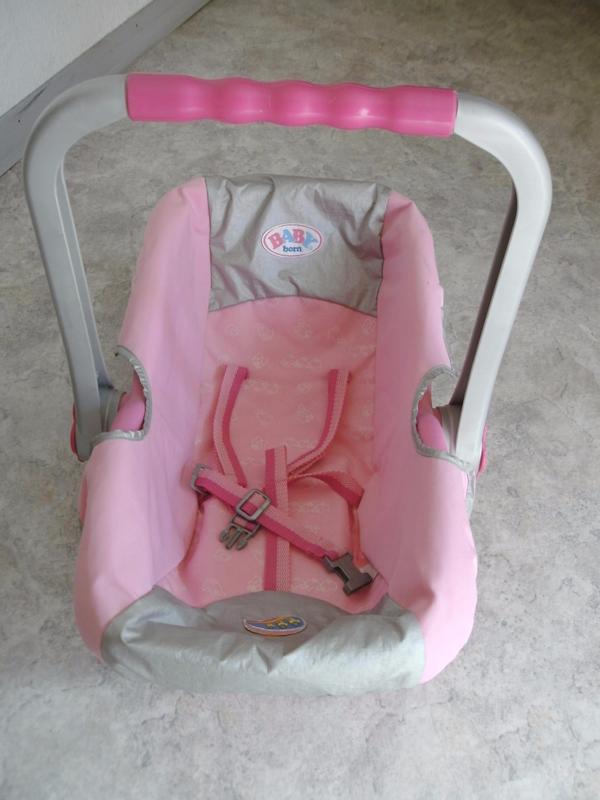 maxi cosi babyborn baby born babyschale puppenschale puppe autositz in heidelberg kaufen und. Black Bedroom Furniture Sets. Home Design Ideas