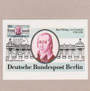 Maximumkarte Berlin zum 250 Geburtstag