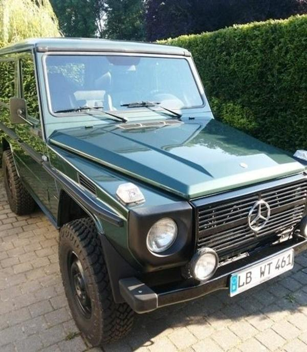 mercedes g 290 td w 461 1999 automatik leder restauriert in remseck mercedes gel ndewagen m. Black Bedroom Furniture Sets. Home Design Ideas