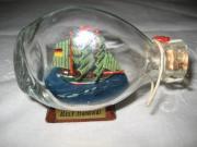 Miniatur  Buddelschiff  Flaschenschiff