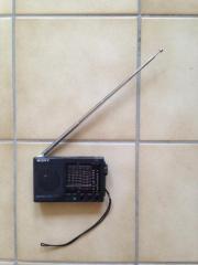 Miniradio Sony, Batteriebetrieb,