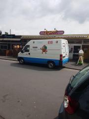 Mobiler Eiswagen für