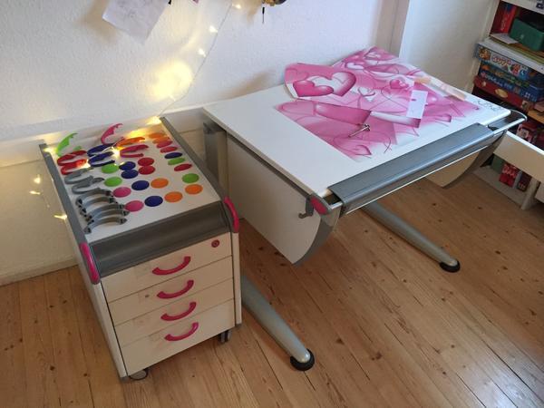 Schreibtisch container neu und gebraucht kaufen bei for Schreibtisch buchefarben
