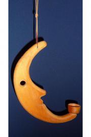 Mondlampe Mondgesicht für Teelichter