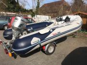 Motor Schlauchboot