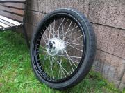 Motorrad Speichen- Felge u Reifen
