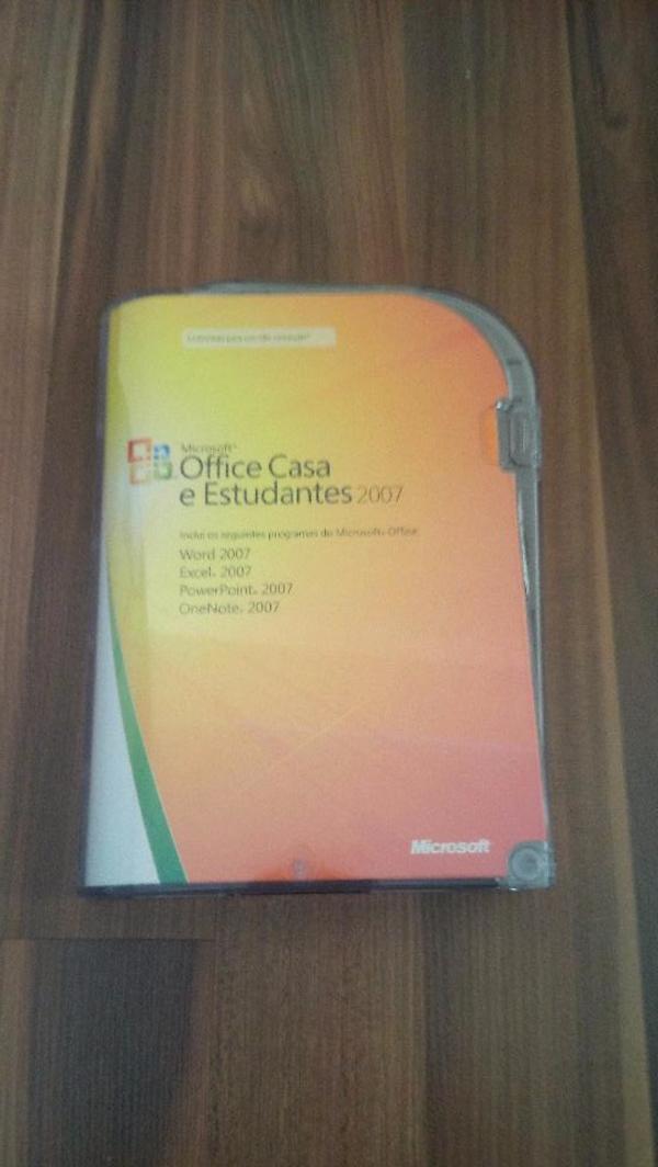MS Office 2007 Home and Student - portugiesisch (! ) - Tamm - Verkaufe 1x original MS Office Home and Student (Office Casa e Estudantes) 2007 in portugiesischer Sprache. Die DVD ist in einem einwandfreien Zustand inkl. OVP - ohne nennenswerte Gebrauchsspuren. Mit dieser DVD sind 3 Lizenzen inklusive - also f