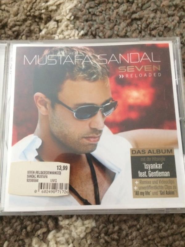 Mustafa Sandal CD Musik - Berlin Spandau - gebrauchte CD türkischer Popsänger Mustafa Sandal - Berlin Spandau