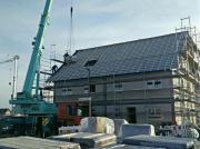 Neubau Doppelhaushälfte in