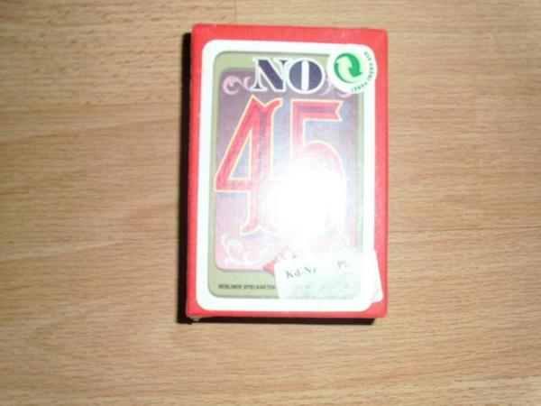 No 45 Kartenspiel OVP