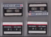 Noch 2 unbespielte Tonband-Kassetten