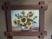 Ölgemälde Sonnenblumen