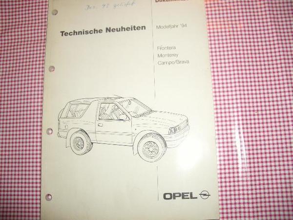 Orig Opel KTA1702 Frontera Monterey