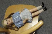 Original Puppe von 1945 mit