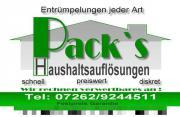 Packs Haushaltsauflösungen Räumungen