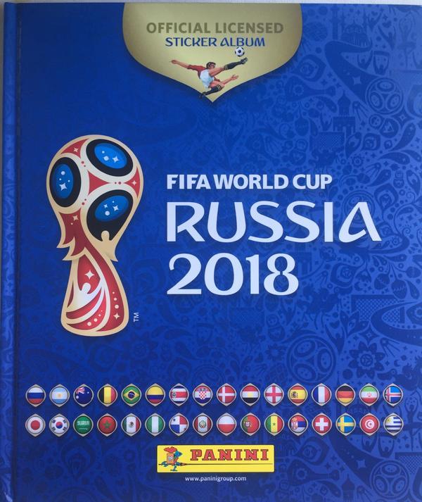 Panini Sticker Russia 2018